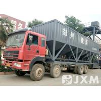 China Stable Performance 50 Mobile Cement Silo Designed For Easy Flowing Materials on sale