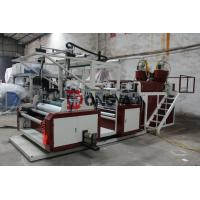 Wholesale Three Layers Stretch Film Extruder Machine HDPE / LDPE Material from china suppliers
