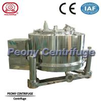 Wholesale 3 Column PTDM Manual Top Discharge Intermittent Pharmaceutical Centrifuge With Clamshell from china suppliers