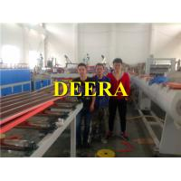 Wholesale 190kw Plastic Sheet Extrusion Machine , PVC Hollow Corrugated Roofing Sheet Making Machine from china suppliers