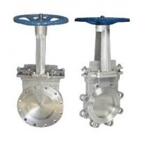 Wholesale Stainless Steel Knife Gate Valve Operating Temperature -100℃ - 600℃ from china suppliers
