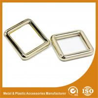 Quality Buckle Inner 37.4MM Antique Brass Classic Adjustable Square buckle For Handbags Or Suitcase for sale