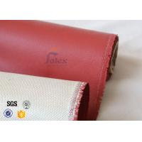 "Wholesale 800℃ Single Side Silicone Coated Fiberglass Cloth 680g 36"" ISO9001 2008 from china suppliers"