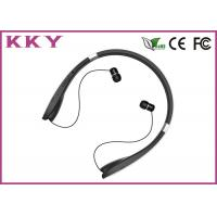 Wholesale Neckband Bluetooth Headphone with Luxurious Materials and Retractable Foldable Earbuds from china suppliers