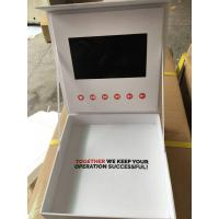 Wholesale Luxary hard covr lcd video box / jewellery video box with HD 7Inch scree from china suppliers