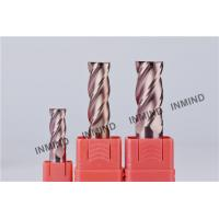 Wholesale 11mm , 4 Flute , Square End Mill , SiN Copper Colour ,  upto HRC55 , CNC end mill from china suppliers