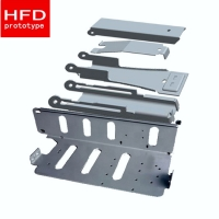 Wholesale Metal Stamping Weld Parts Anodizing SPCC Precision Sheet Metal Fabrication from china suppliers