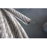 Wholesale Clear Transparent PVC coated Stainless Steel Wire Rope 7x7 from china suppliers