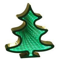 Wholesale Xmas tree led mirror tunnel light from china suppliers