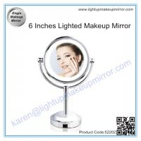 Wholesale 6 Inches Lighted Makeup Mirror from china suppliers