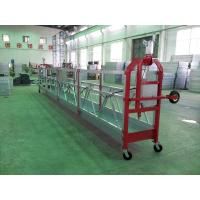 Wholesale Pin Type Aluminum Hanging Scaffold Systems Gondola ZLP800 With 100M Working Height from china suppliers