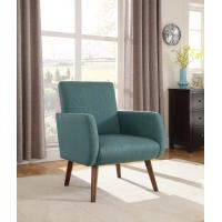 Wholesale Modern Hardwood Blue Living Room Chairs High Density FoamWith Arms from china suppliers