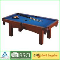 Quality Billiards 18mm MDF Table soccer game table with 2 pcs plastic wheels 24mm MDF Court for sale