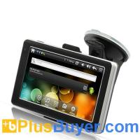 "Wholesale CyberNav Mini - 5"" Touchscreen Android 2.2 Tablet + GPS Navigator (800 MHz CPU) from china suppliers"