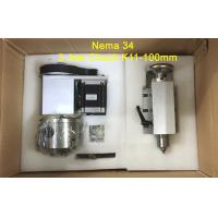 Wholesale Nema 34 K11-100mm 3 Jaw Chuck CNC 4th Axis Kit Dividing Head For Milling Machine from china suppliers