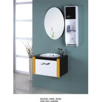 Wholesale 15mm PVC board Floating Bathroom Vanities furniture style 70 X 42 / cm from china suppliers