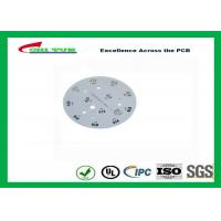 Wholesale Electronic Aluminum PCB Manufacturer for LED lighting White Solder Mask Rould PCB from china suppliers