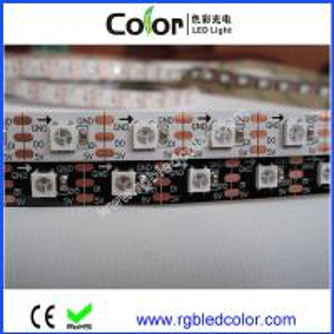 Wholesale 10/12mm white/black pcb DC5V digital rgb apa104 strip 30 48 60 72 144led/m from china suppliers