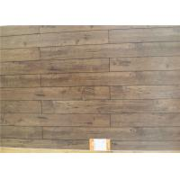 Wholesale V Groove Maple Handscraped Laminate Flooring , Waterproof 12mm Wood Floor Panels 6602 from china suppliers