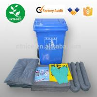 Wholesale ISO 9000:2008 100% PP universal Spill Control emergency spill kits from china suppliers