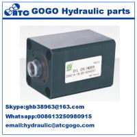 Wholesale Direct power rod compact thin double acting hydraulic cylinder oil Mechanical parts from china suppliers