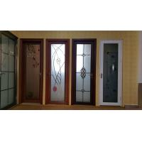 Wholesale Toilet Kitchen Room Tempered Glass Aluminium Folding Doors Waterproof Side Hung from china suppliers