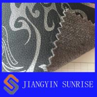 Wholesale Pearl Tinted Printed Car Seat Leather ,  Fireproof Faux Suede Leather Fabric from china suppliers