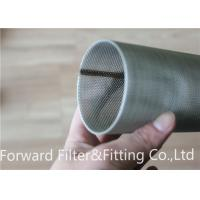 Quality Microporous Filter Center Tube Perforated Metal Sheet Spiral Perforated Tube / Pipe for sale