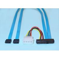 Wholesale SAS x4 (SFF-8484) to SAS (4)x1 (SFF-8482) Cables from china suppliers