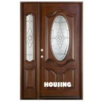 Wholesale Waterproof Sound Insulation Solid Timber Door For Villas , Outward Swing from china suppliers