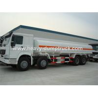 Wholesale SINOTRUK HOWO 8X4 Oil Tank Truck with 30CBM 400L Aluminum alloy fuel tank ISO from china suppliers