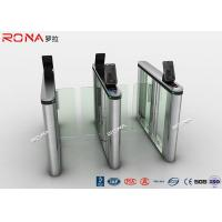 Wholesale Acrylic Swing Access Control Turnstiles Face Recognition For Business Building from china suppliers