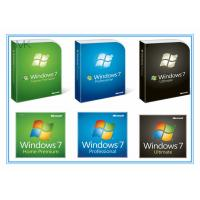 Wholesale English Version Microsoft Updates For Windows 7 Professional Retail Box Activation Online from china suppliers
