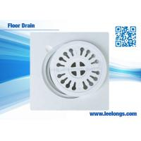 Wholesale Square Shower Floor Drain 15mm / 20mm Resin Composite For Sanitary Ware from china suppliers