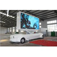 Wholesale 1RGB P10 Vehicle Truck Led Screen Trailer IP65 , Mobile Billboard Advertising from china suppliers