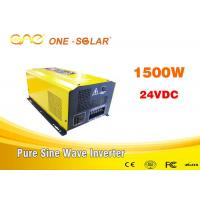 Wholesale Dc To Ac Off Grid Pure Sine Wave Inverter 1000w 1500w 2000w 24vdc To 220vac from china suppliers
