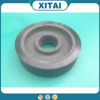High Quality Factory Supplied  Polyurethane Material 95 Shore A pu flat free tire wheels