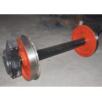 Buy cheap Carbon steel foundry cooling line rail wheel freight wagon wheel from wholesalers