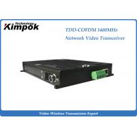 Wholesale COFDM Ethernet Video Transmitter TDD Full Duplex Wireless Transceiver Drone Video Link from china suppliers