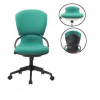 Wholesale Contemporary Green Fabric Office Chair With Armrest 120mm Common Gas Lift DX-C625 from china suppliers