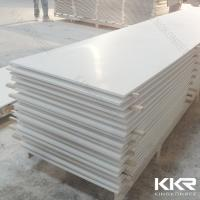 Quality 12mm pure white acrylic solid surface / Artificial marble solid surface for sale