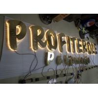 Wholesale Stainless Steel Back Lit LED Channel Letters With Hight Bright Lighting from china suppliers