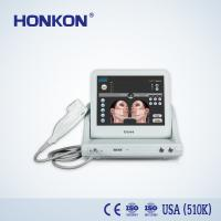 Buy cheap Portable Wrinkle Remover Skin Tighten HIFU Machine with 4 Threatment Head from wholesalers