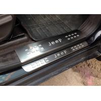 Wholesale JEEP Cherokee 2014 2016 Side Illuminated Door Sills , Stainless Steel Scuff Plate from china suppliers