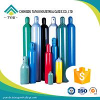 China CE, DOT, ISO, GB certificated gas aluminum, steel high pressure cylinder seamless on sale
