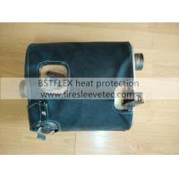 Muffler heat protection blanket