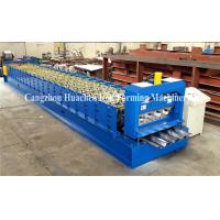 Wholesale Steel Stucture Decking Floor Deck Roll Forming Machine High Efficiency from china suppliers