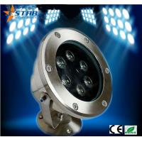Wholesale DC24V Bridgelux Chip Led Underwater Lights 6*3W View Angle 45DEG from china suppliers