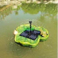 Buy cheap solar floating fountain from wholesalers