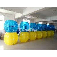 Wholesale Durable Yellow Blue TPU Sumo Ball Sports Type For Kids / Adult from china suppliers